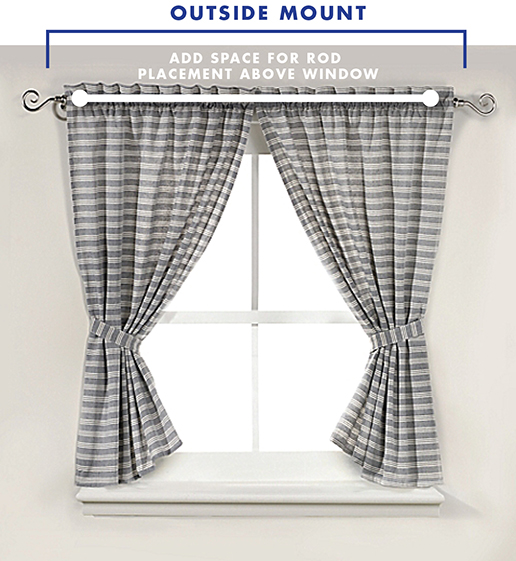 how to measure for drapes and curtains
