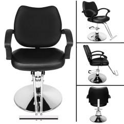 All Purpose Salon Chairs Step 2 Folding Table And Black Fashion Hydraulic Barber Chair Shampoo Beauty 350 Lbs