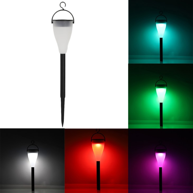 Color Changing Solar Lights Outdoor Lawn Lamp Light for Garden Yard