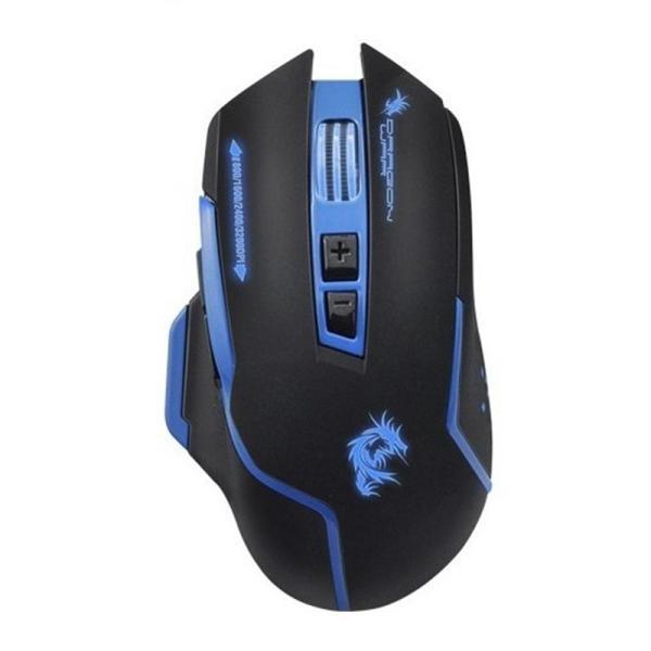 Dragon War Gaming Mouse Silent 3200 DPI - G17 Black - www.yallagoom.com.qa