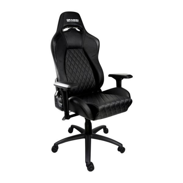 Dragon War Pro Gaming Chair  With Foot Rest Stand - www.yallagoom.com.qa
