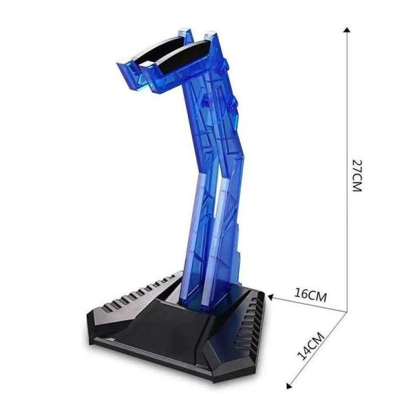 Onikuma Gaming Headphone Stand Blue - www.yallagoom.com.qa