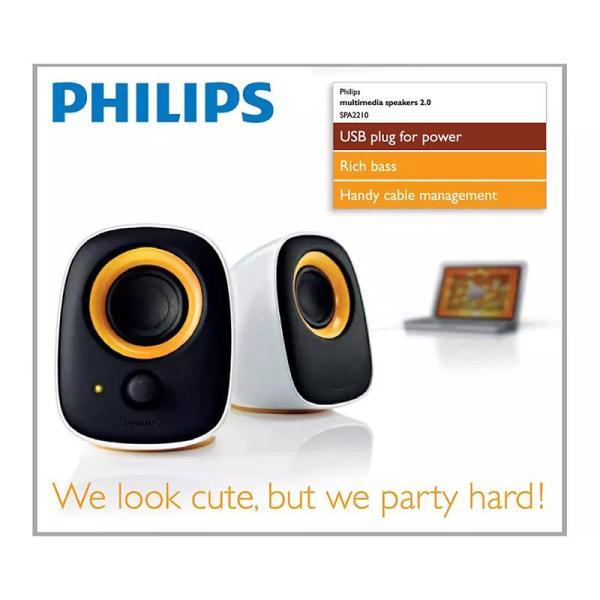 Philips Notebook USB speakers SPA2210/10 - www.yallagoom.com.qa