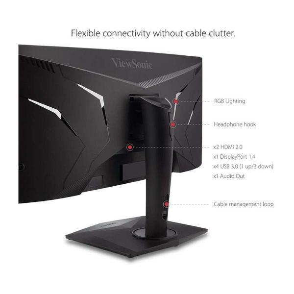 ViewSonic ELITE XG350R-C 35 Inch UltraWide Curved RGB Gaming Monitor - www.yallagoom.com.qa