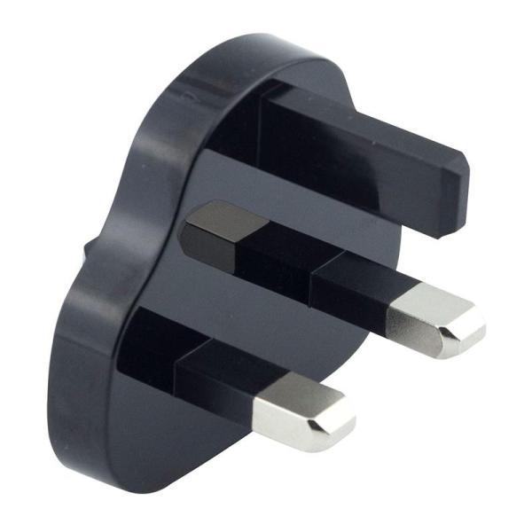 XPower Mini Cube Travel Charger - Black-Yallagoom.com.qa