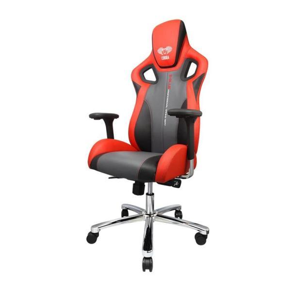 EBLUE Cobra X Comfortable Gaming Chair - Red-yallagoom.com.qa