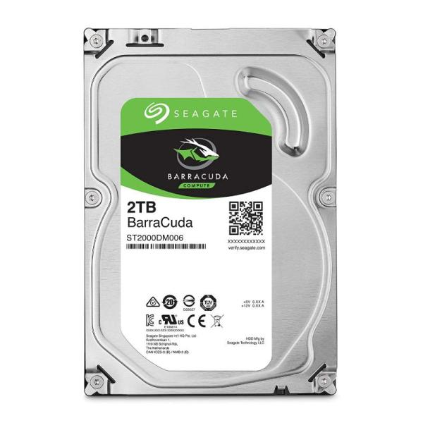 SEAGATE – 2TB BARRACUDA 64MB 7200RPM  DESKTOP HDD-yallagoom.com.qa