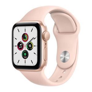 Apple Watch Series SE GPS 40MM Watch SE GOLD- MYDN2-yallagoom.com.qa