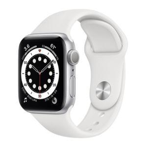 Apple Watch Series 6 GPS 40MM Sport Band White - MG283-yallagoom.com.qa