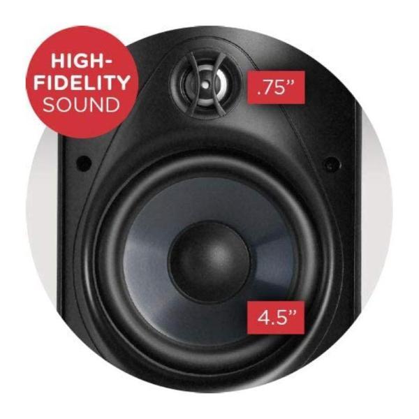 Polk Audio Atrium 4 All Weather Outdoor Loudspeakers-yallagoom.com.qa
