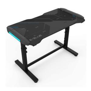 Eblue- Height-adjustabe & Glowing Gaming desk( EGT576BKAA-IA)-yallagoom.com.qa