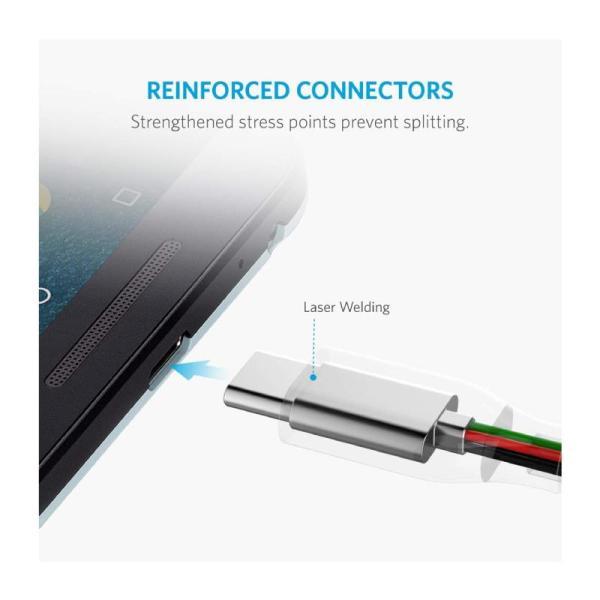 ANKER POWERLINE+USB-C TO USB 3.0 CABLE (6FT) - 1.8M-Yallagoom.com.qaANKER POWERLINE+USB-C TO USB 3.0 CABLE (6FT) - 1.8M-Yallagoom.com.qa