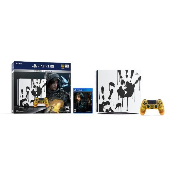 DEATH STRANDING PS4 PRO LIMITED EDITION BUNDLE 1TB-yallagoom.com.qa