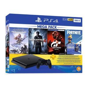 PS4 SLIM 500GB +3GAMES + FORTINTE-yallagoom.com.qa