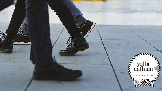 اختيار الأحذية للرجال