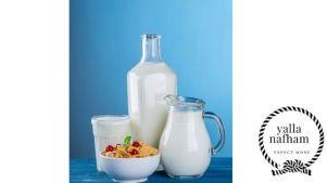 الحليب لتبييض وجه النساء .