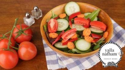 وجبة عشاء صحية متكاملة