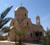 modern Orthodox Church at Bethany Beyond the Jordan