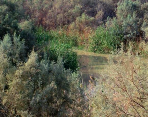 Jordan River at Bethany Beyond the Jordan