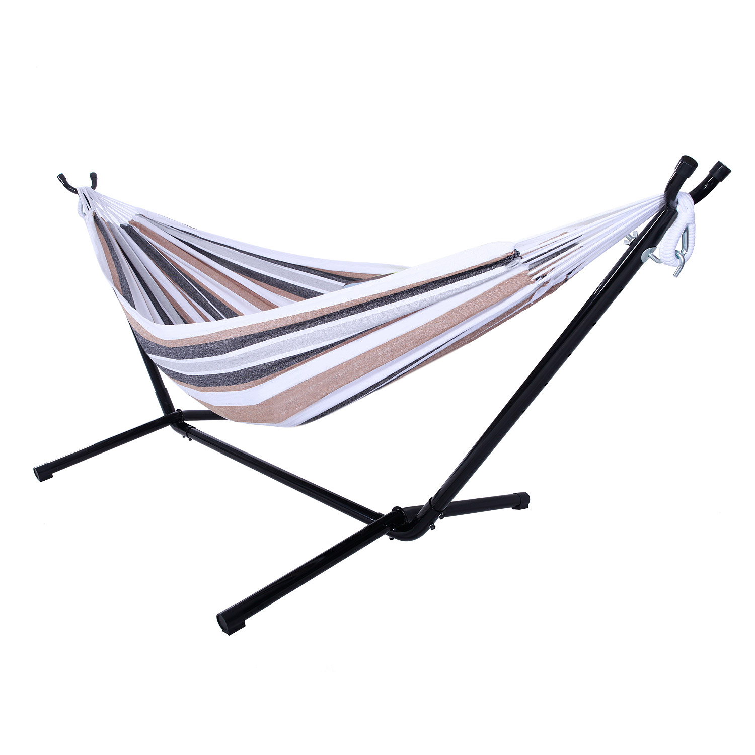 hammock chair stand kijiji royal blue velvet double with space saving steel includes