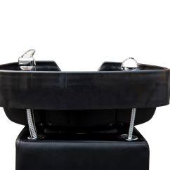 Shampoo Sink And Chair Twin Sleeper With Ottoman Barber Salon Backwash Bowl Spa