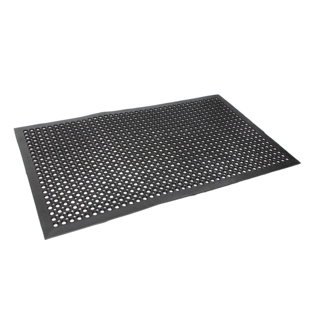 Black AntiFatigue Floor Mat 3660 Indoor Commercial Industrial Heavy Duty Use