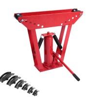 Heavy Duty 12 Ton Hydraulic Manual Pipe Bender 6 Dies ...