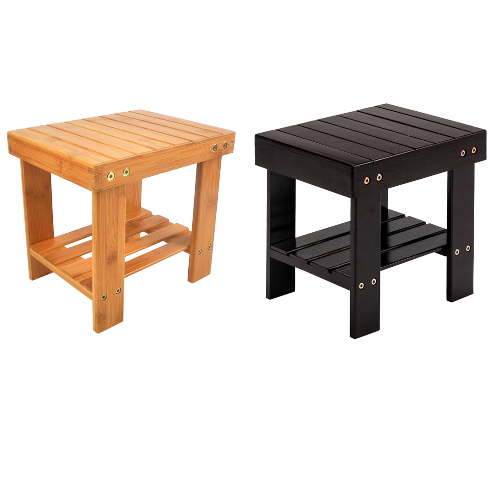 Small Stool Chair Details About Durable Small Bench Bathroom Stepping Chair Foot Rest Stool Storage 2 Colors New