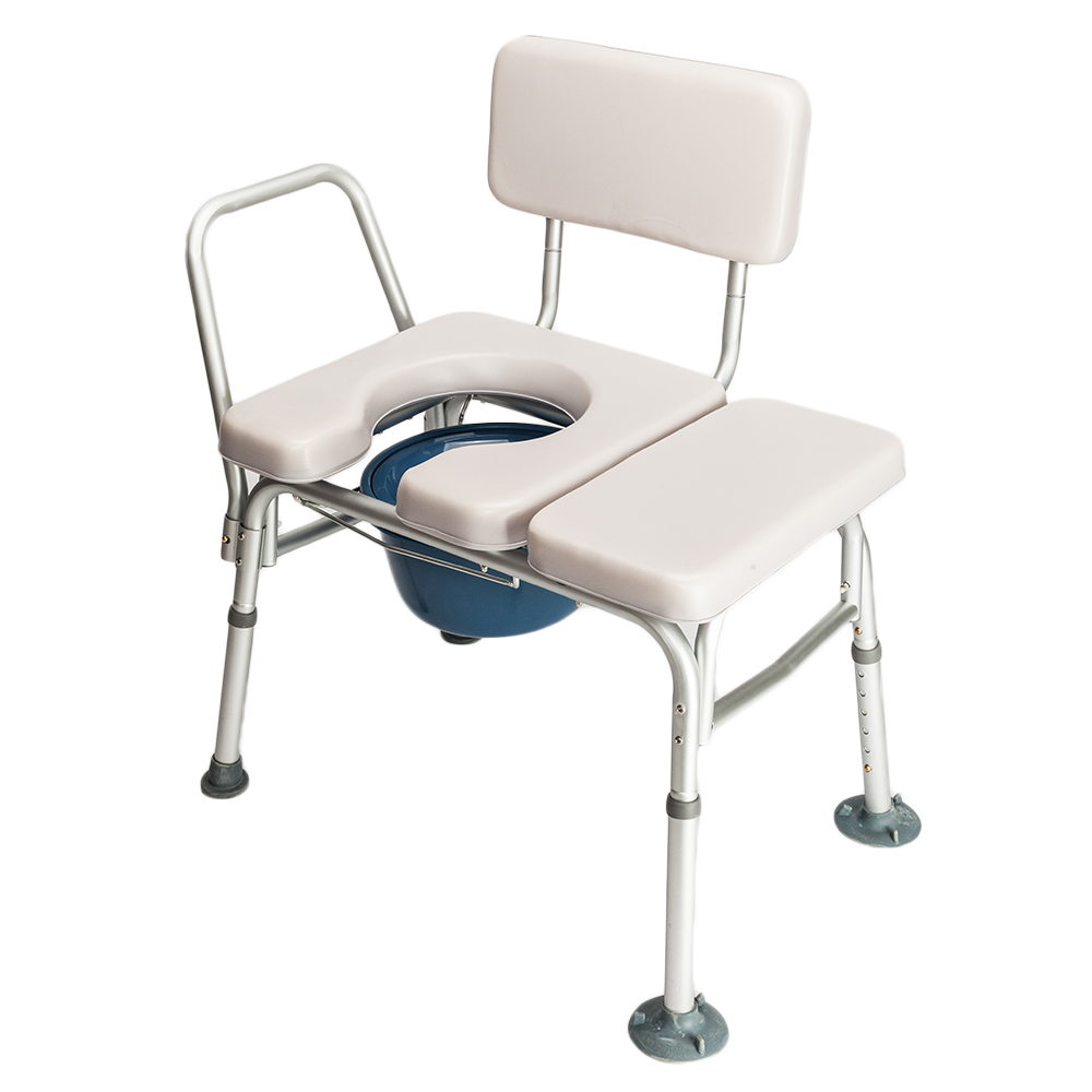 Bedside Commode Chair Details About Bedside Commode Chair Shower Bathroom Potty Stool Adult Toilet Padded Seat Grey