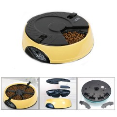 Revolving Chair For Salon Swivel Shower With Back And Arms 6 Meal Automatic Pet Feeder Auto Dog Cat Food Bowl Dispenser Electronic Yellow | Ebay
