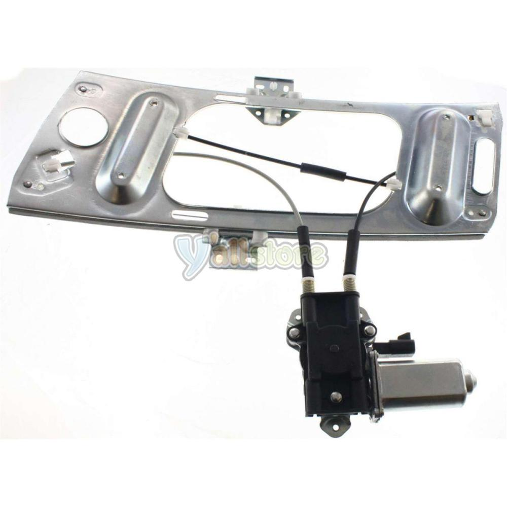 medium resolution of front driver side power window regulator with motor for chevy monte carlo 00 07
