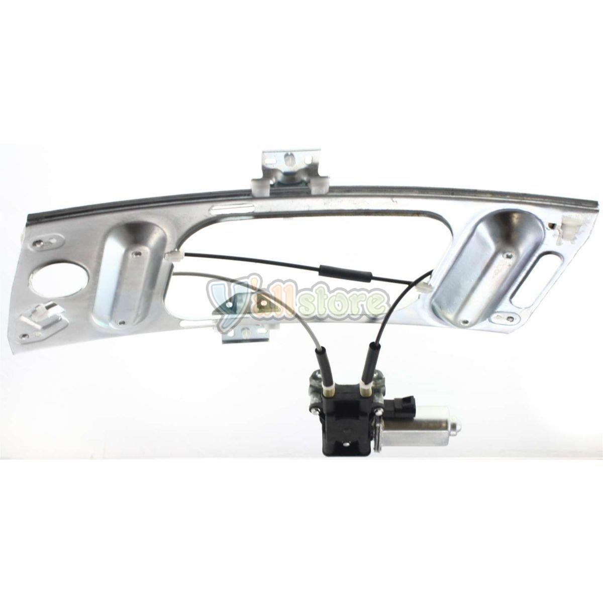 hight resolution of front driver side power window regulator with motor for chevy monte carlo 00 07