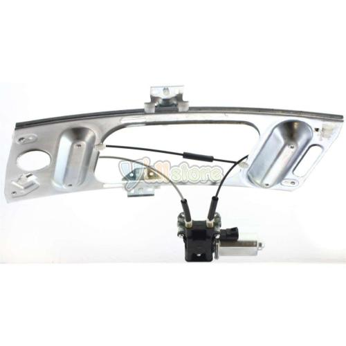 small resolution of front driver side power window regulator with motor for chevy monte carlo 00 07