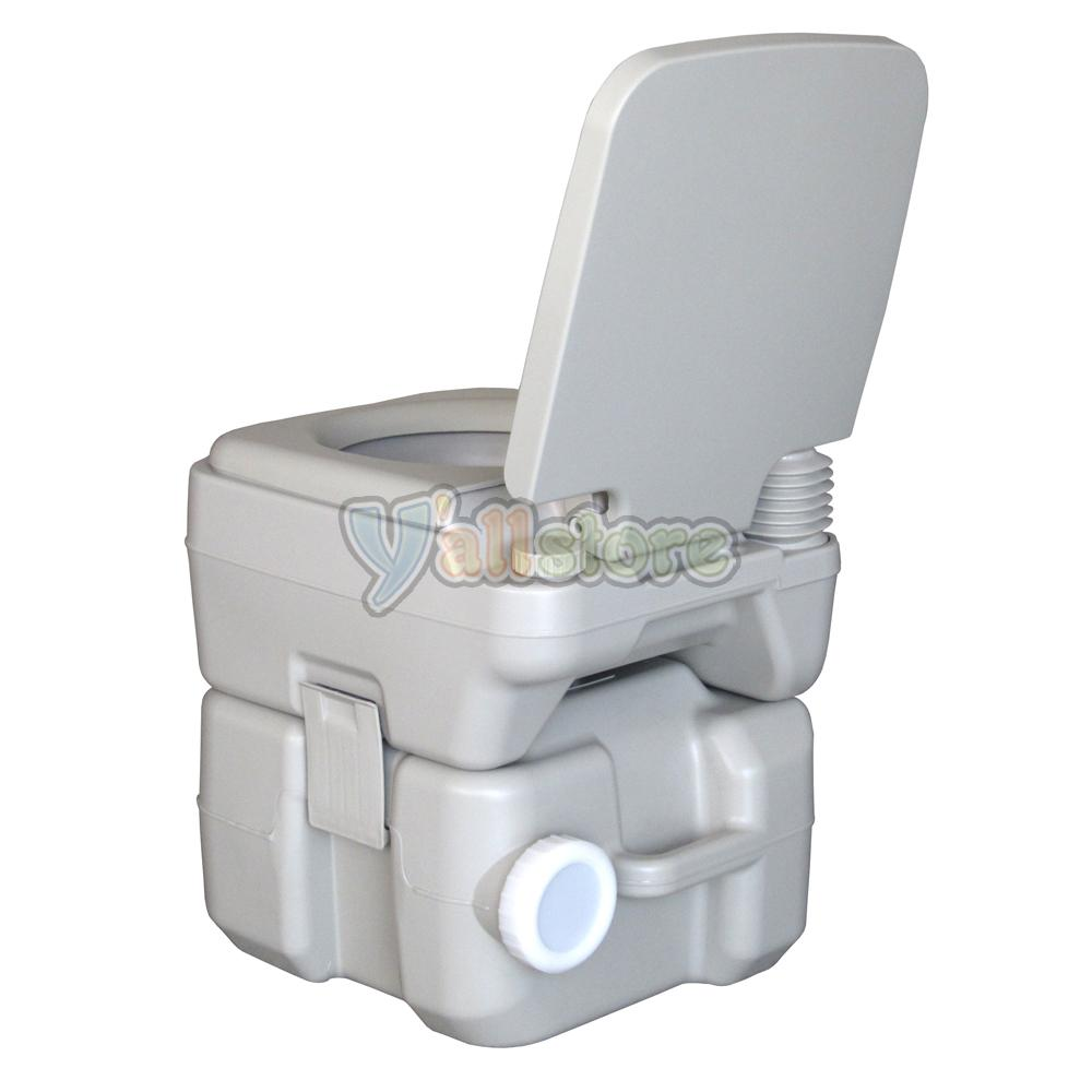 20L Portable Camping Toilet Flush Porta Travel Outdoor