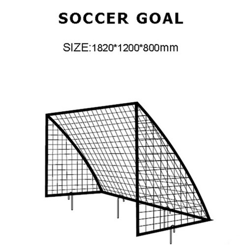 Outdoor Football Exercise Soccer Goal 6' x 4' Football W