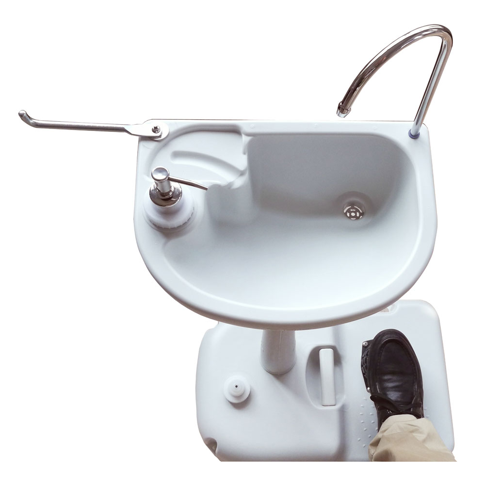Outdoor Removable Camping Wash Basin Sink Stand Water Tank