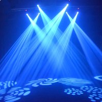 2Pcs 30W LED Moving Head Light LED Spot Stage Lighting DJ ...