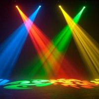 2Pcs 30W LED Moving Head Light LED Spot Stage Lighting DJ ...
