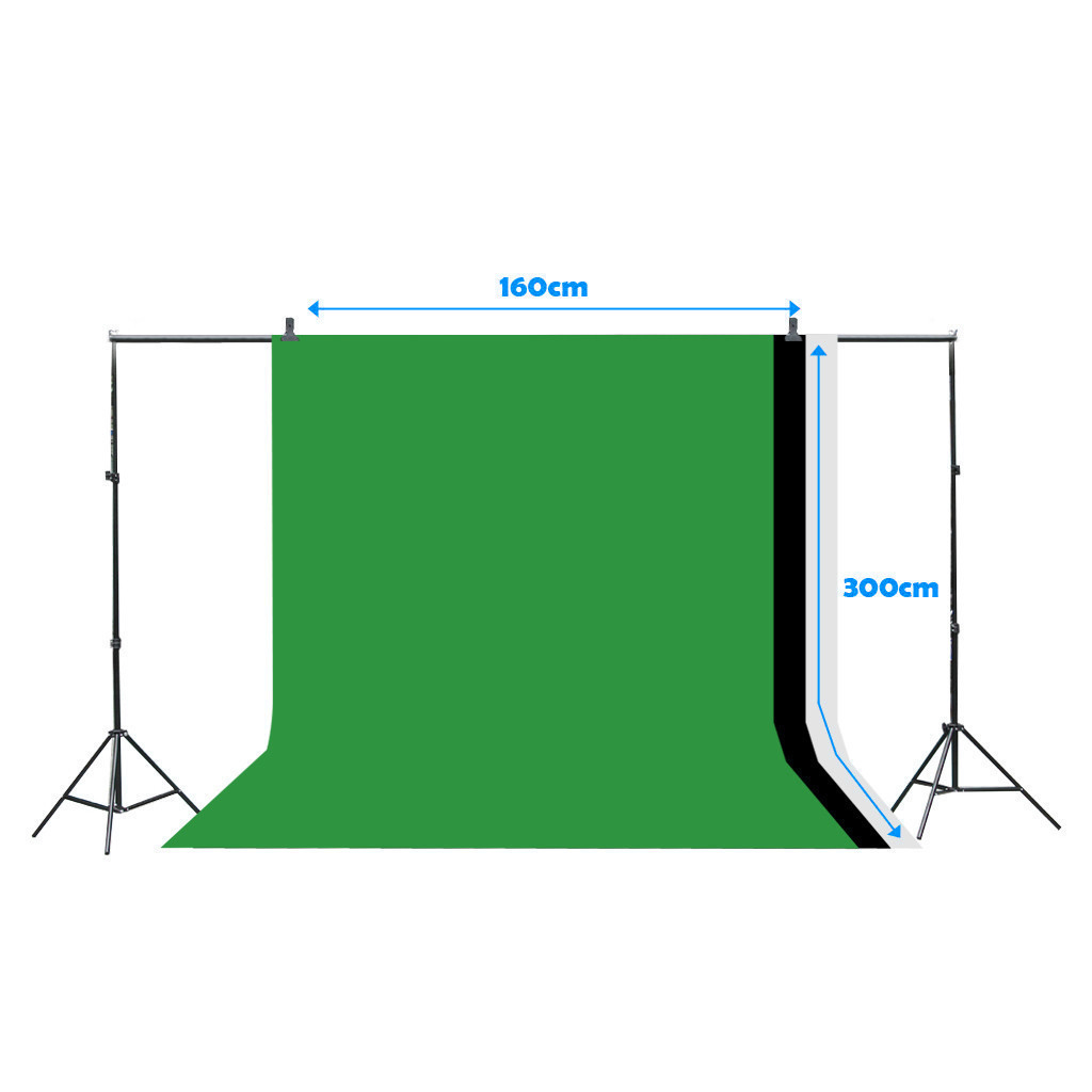 hight resolution of details about photo studio 3 softbox photography light stand continuous lighting kit 1000w
