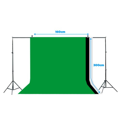 small resolution of details about photo studio 3 softbox photography light stand continuous lighting kit 1000w
