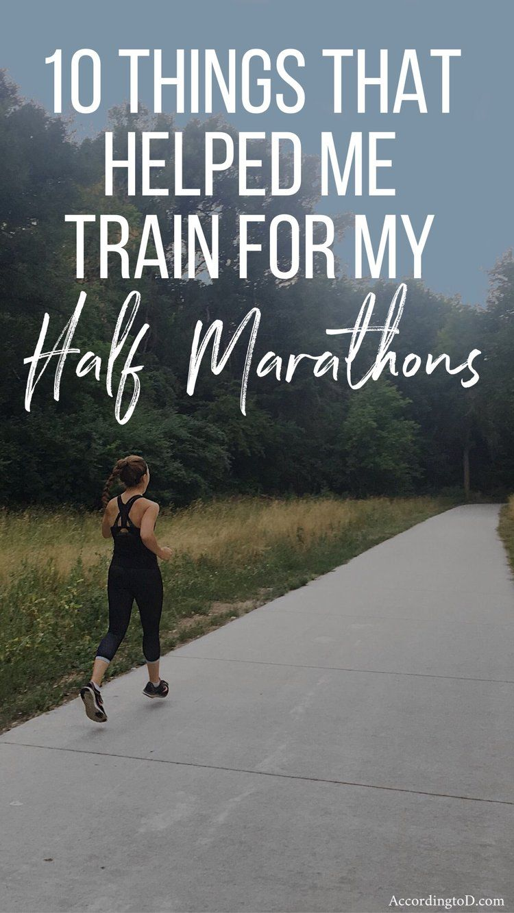 how long does it take to train for a marathon from half marathon