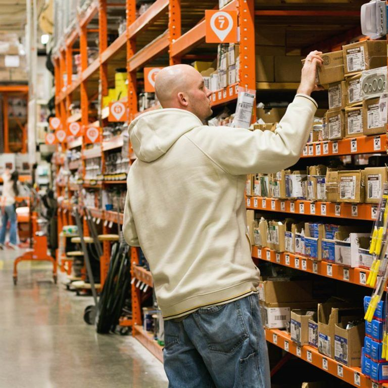 how old to work at home depot canada