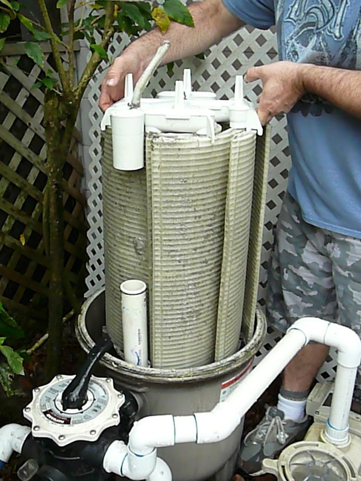 How to remove and clean hayward de filter grids