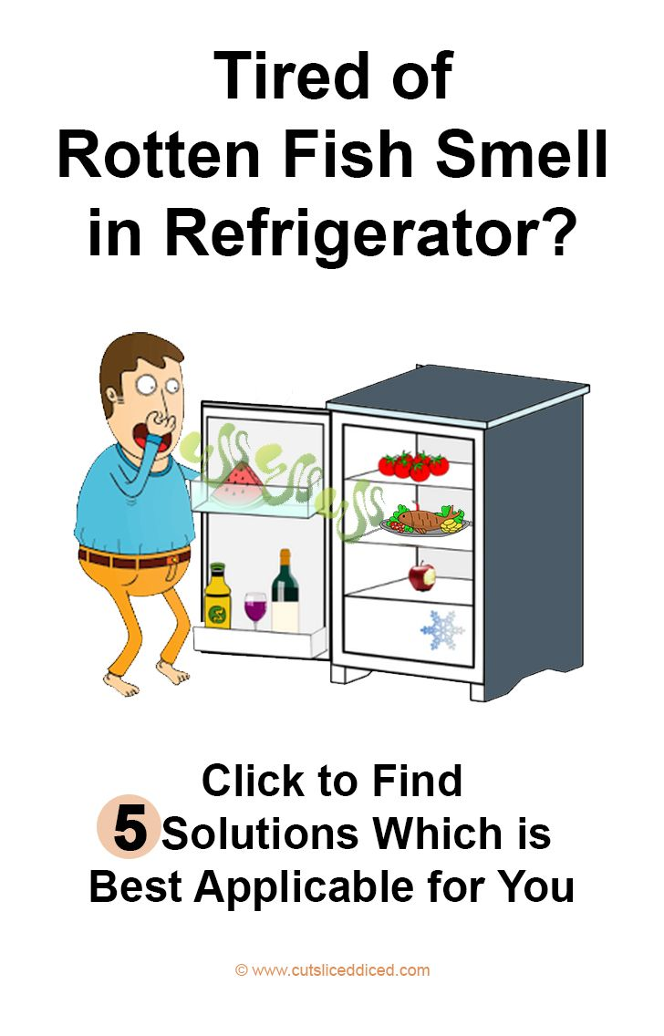 Are u tired of rotten fish smell in refrigerator fridge