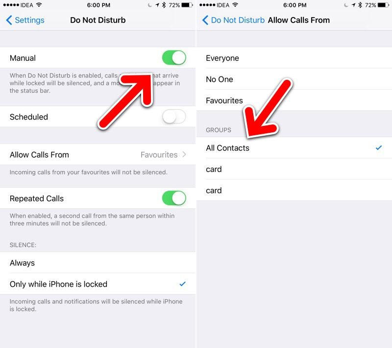 How to block calls from unknown callers and no caller id