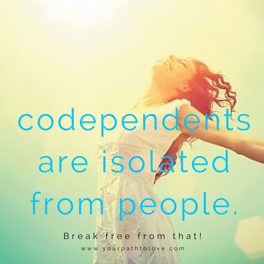 How to not be codependent the secret of passion