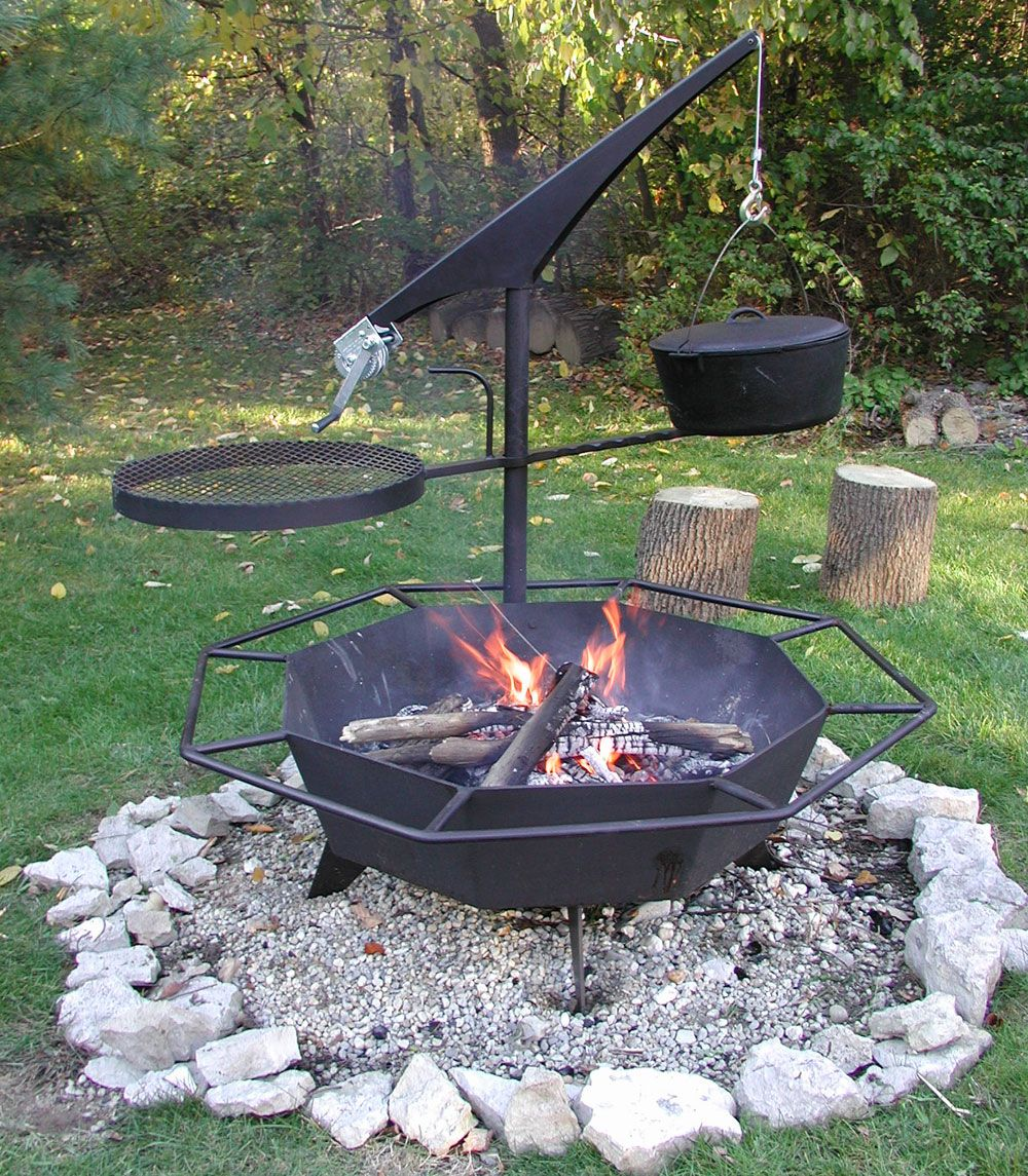how to start a fire in a fire pit youtube