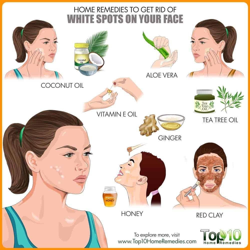 Get rid of white spots on face exfoliatingfacescrub in