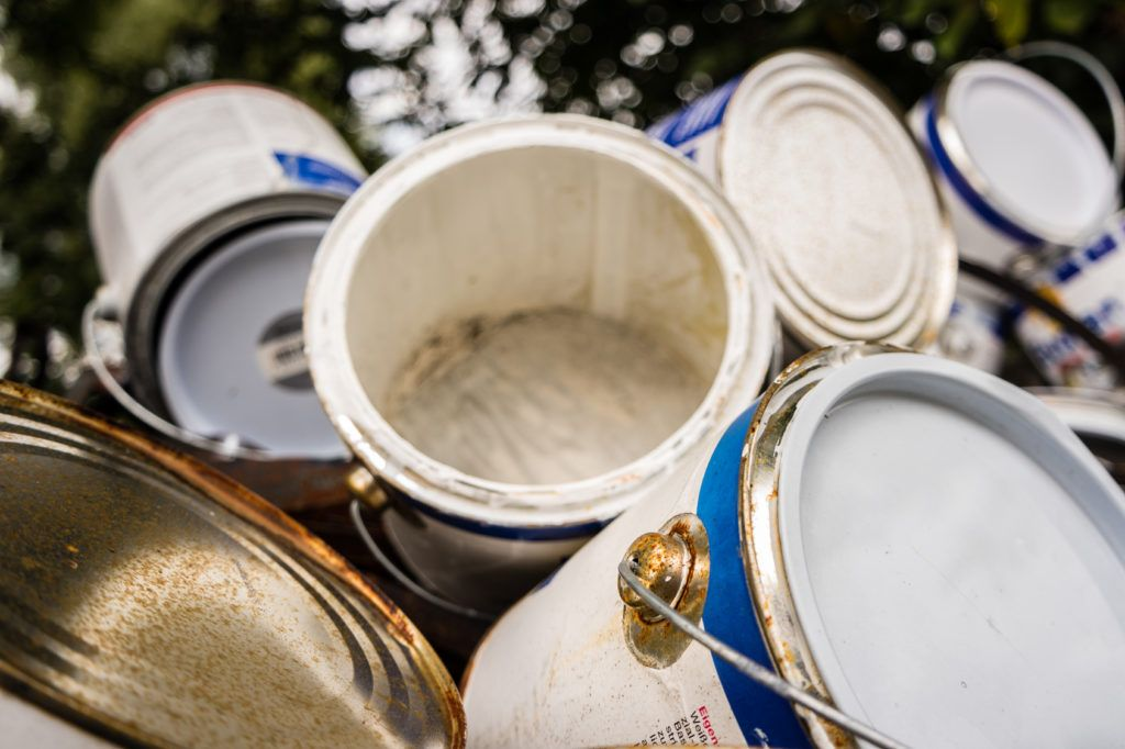 Dispose your paint properly and help the environment