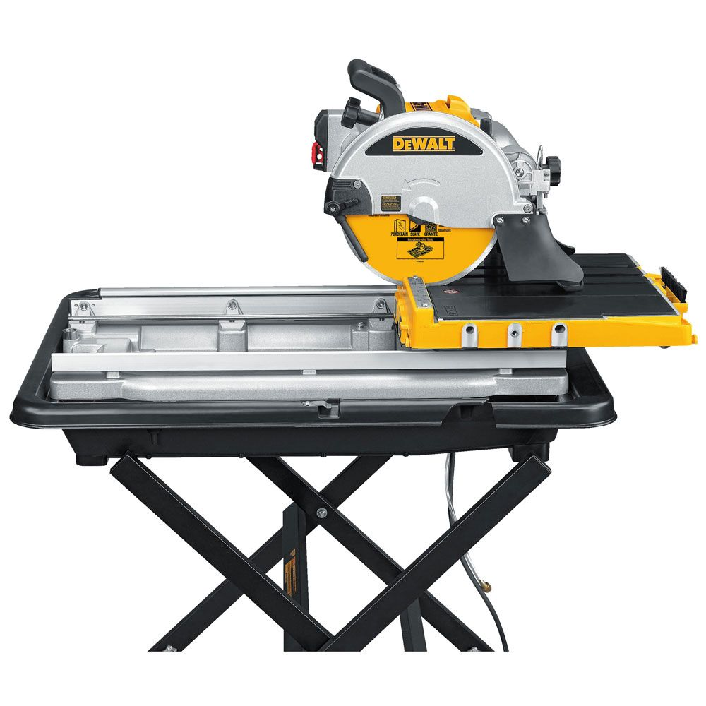 how to cut porcelain tile with a wet saw
